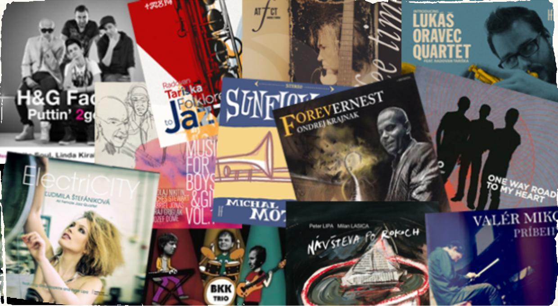 Jazzová nádielka slovenských albumov roku 2013