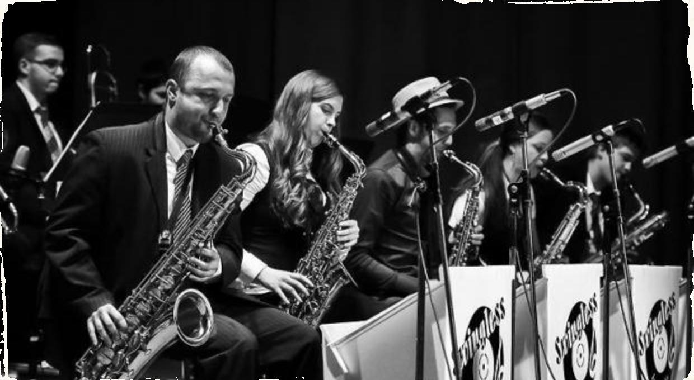 Swingless Jazz Ensemble si do Divadla pozvali hosťa Borisa Čellára