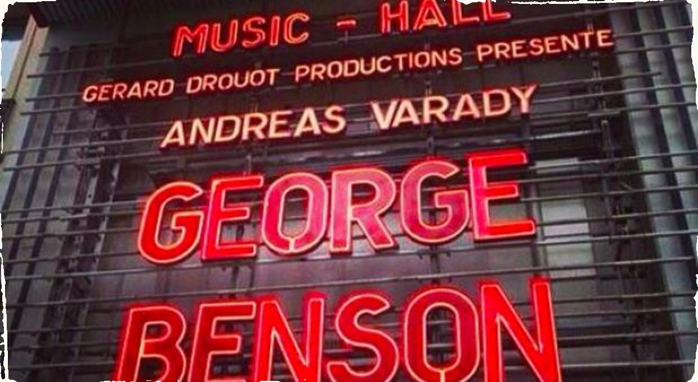 Andreas Varady - na pódiu s George Bensonom