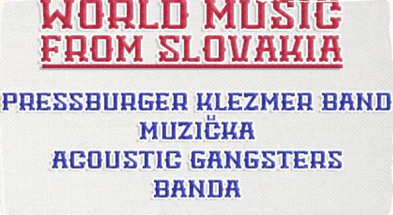 Vo februári odštartuje  WORLD MUSIC FROM SLOVAKIA