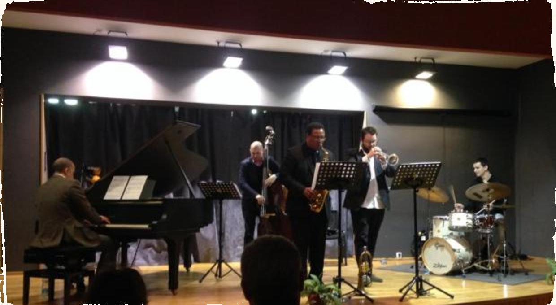 Report: Lukáš Oravec Quartet s Vincent Herringom v Žiline