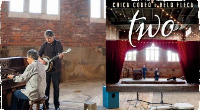 Chick Corea a Béla Fleck prichádzajú so živým dvojalbumom