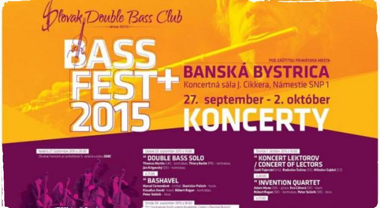 Bass Fest v Banskej Bystrici ponúka množstvo jazzových koncertov