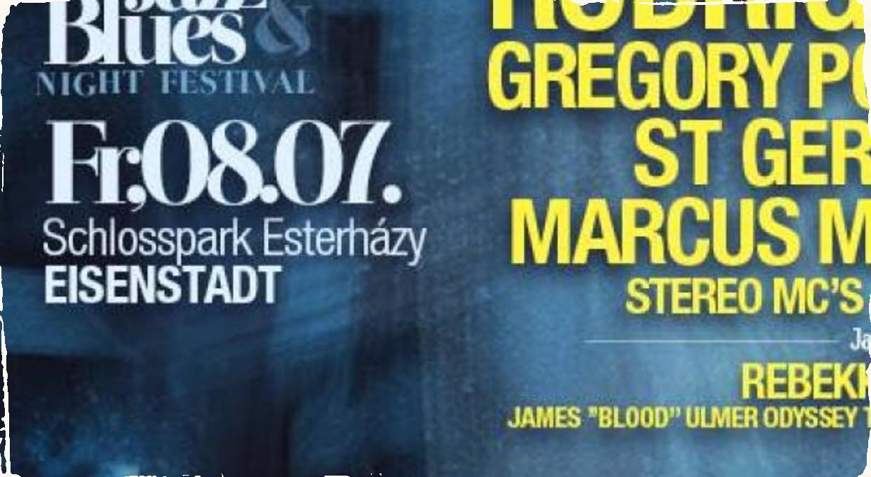 Gregory Porter a Marcus Miller vystúpia v neďalekom Eisenstadte