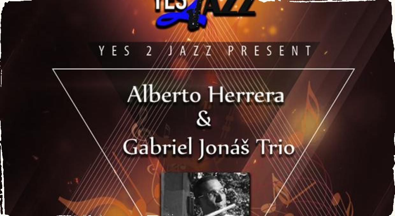 Ďalší koncert zo série Yes 2 Jazz: Predstaví sa Alberto Herrera a Gabriel Jonáš Trio