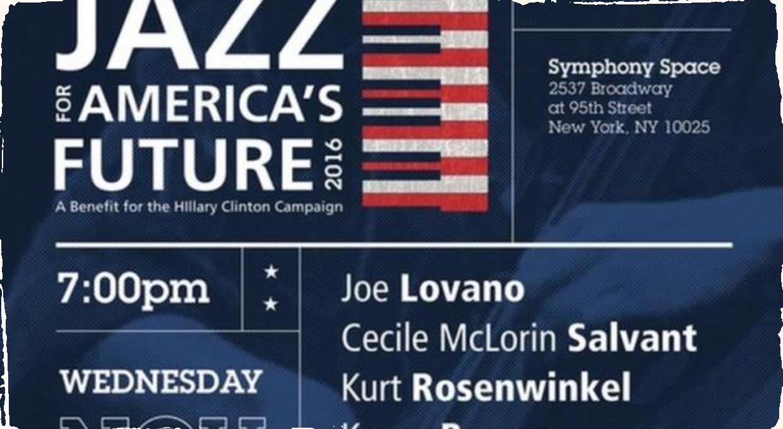 Jazz sa vyjadril ku americkej politike: Hudobníci hrajú benefit pre Hillary Clintonovú
